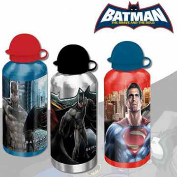BATMAN VS SUPERMAN - BORRACCIA IN ALLUMIO 500 ML